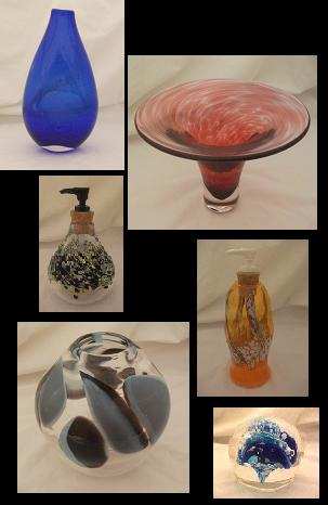 Todd Hohenstein functional glass art